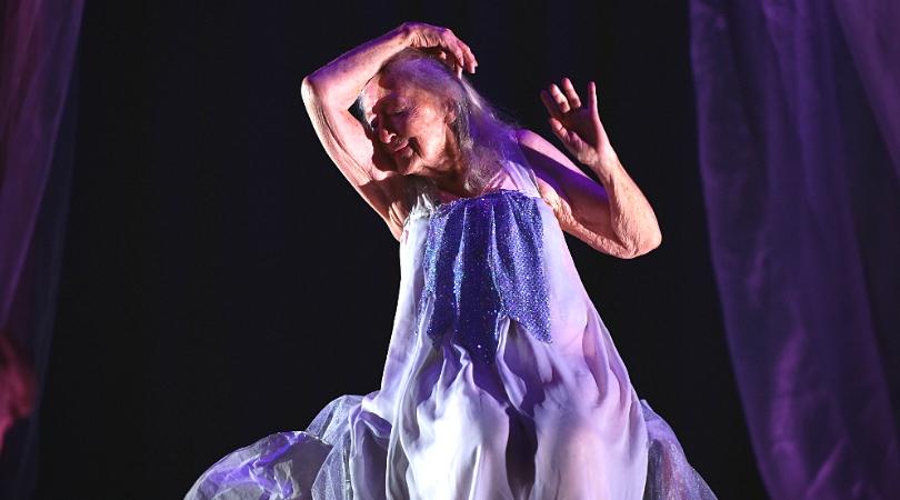 Eileen Kramer danseuse centenaire