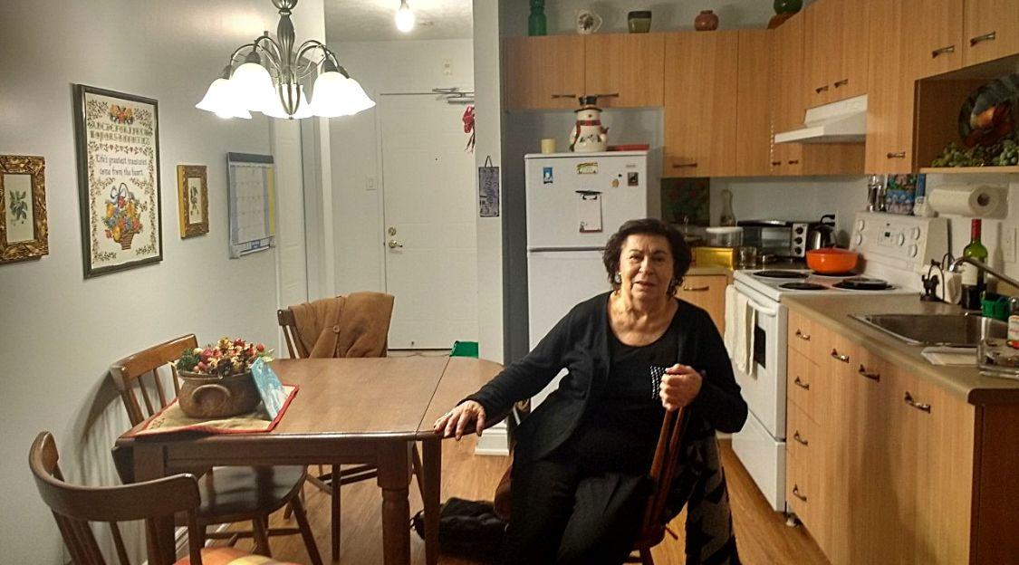 Rachel dans sa résidence