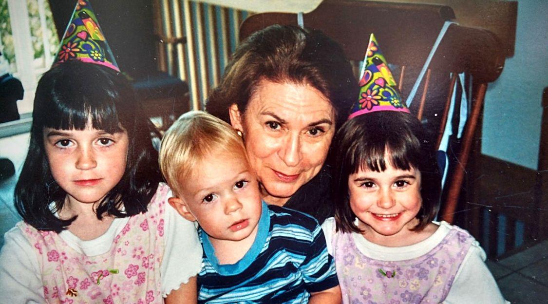 Rachel et ses petits-enfants