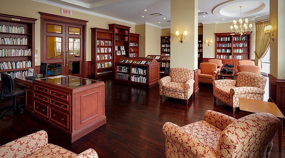Lux Gouverneur bibliothèque