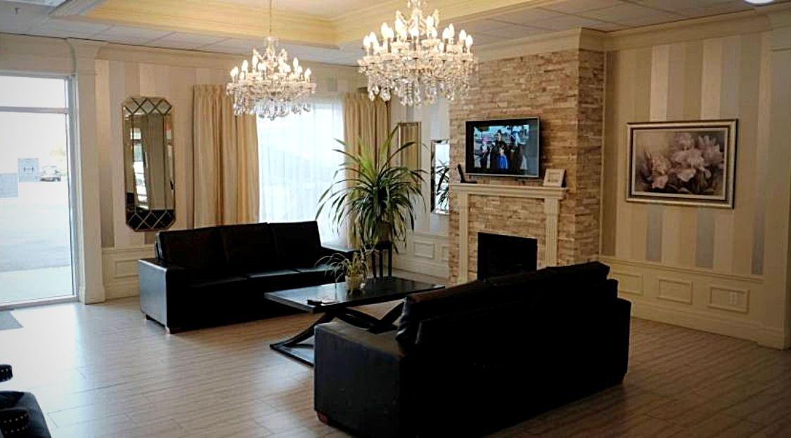 Luxueux hall d'entrée