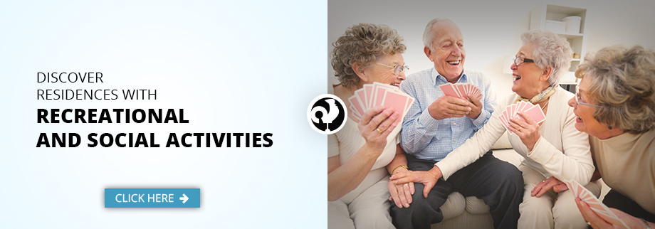 Discover residence for senior with recreational and social activites