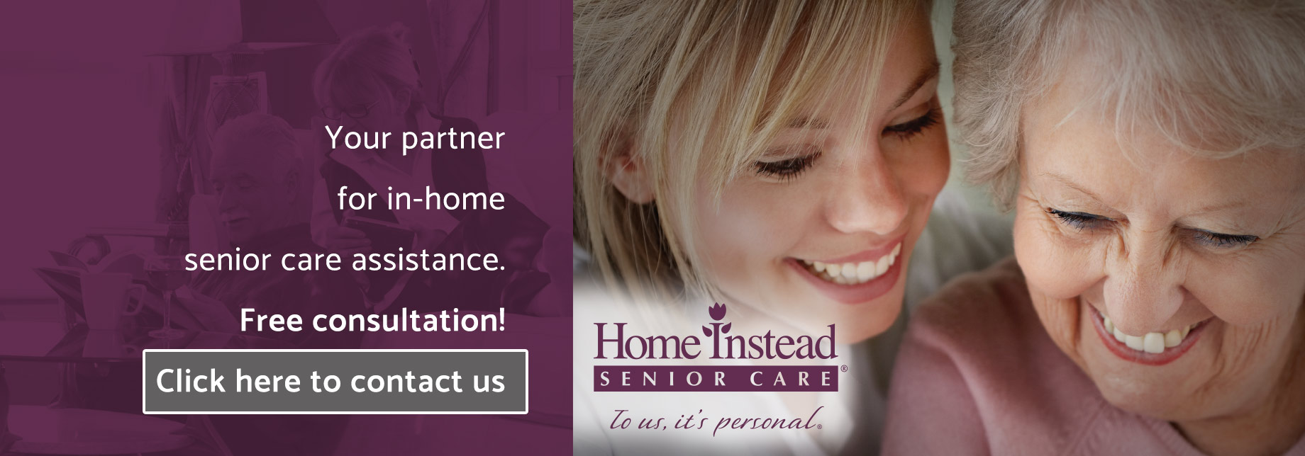 Your partner for in-home senior care assistance. Home Instead