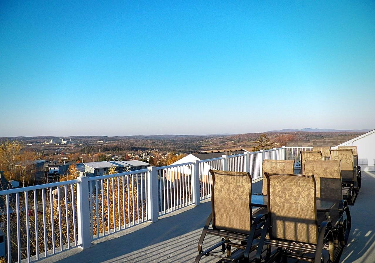 Magnifique vue sur la ville de Sherbrooke