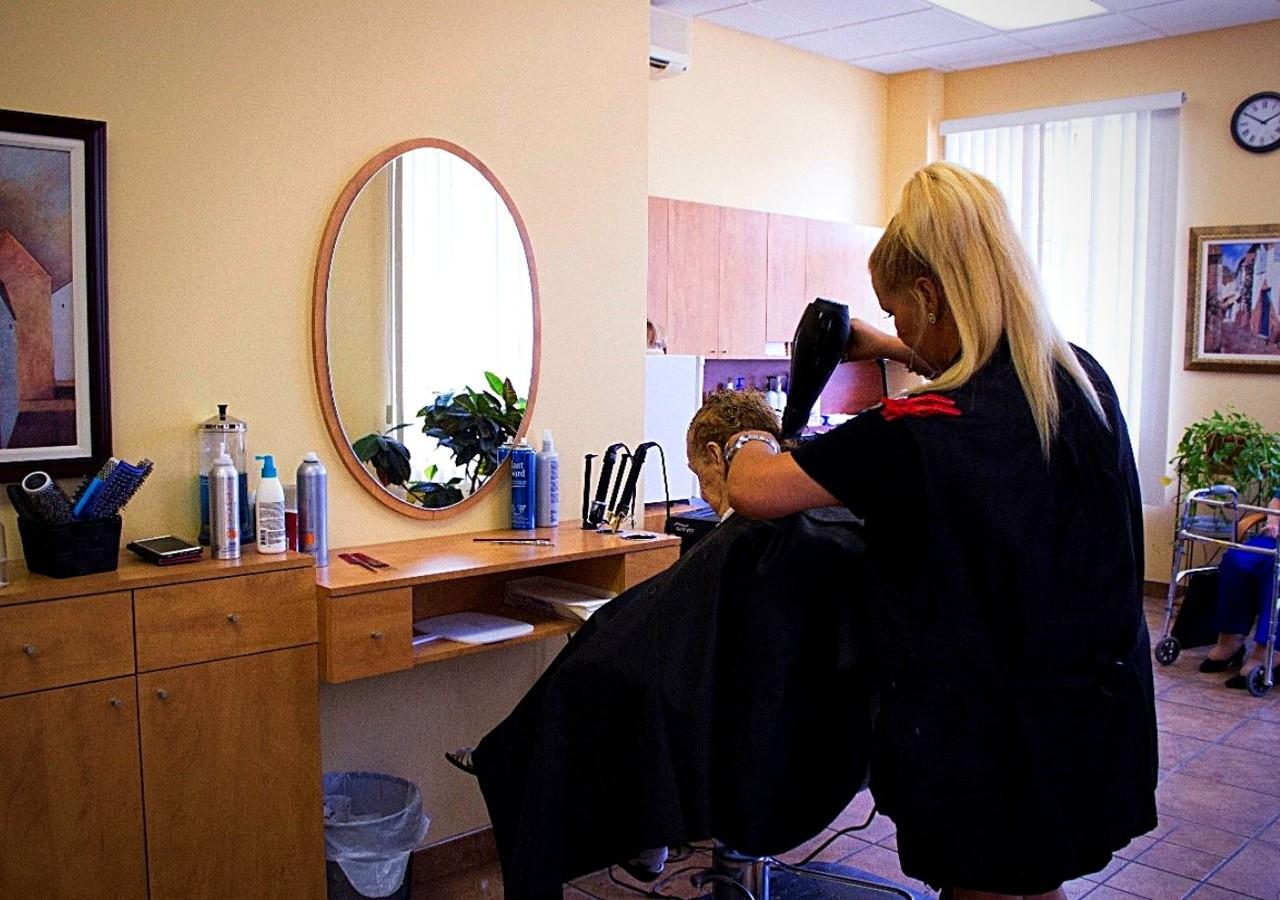 Salon de coiffure et d'esthétisme