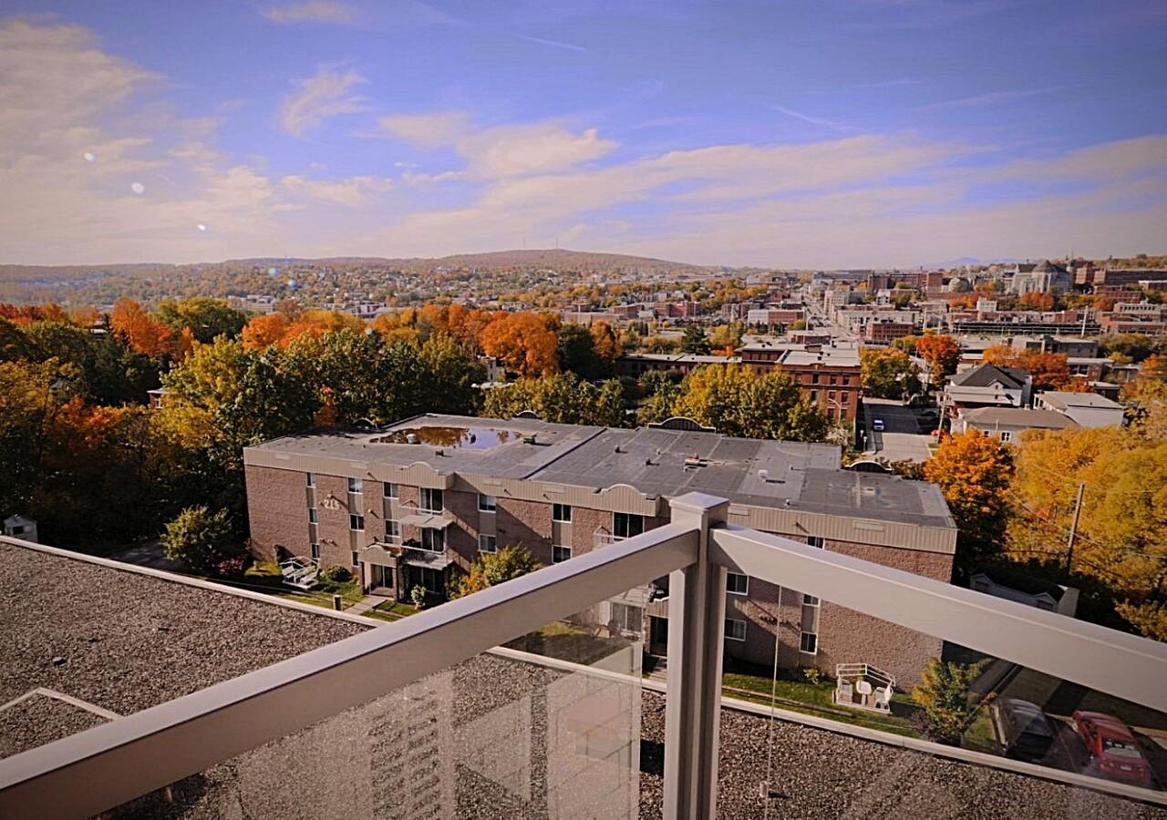 Vue sur la ville de Sherbrooke