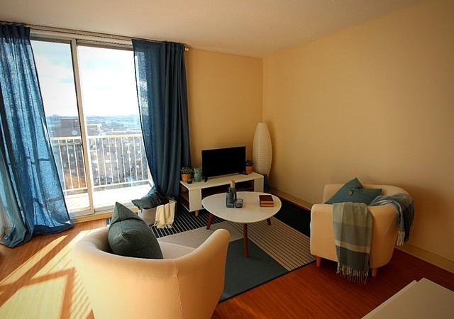 Appartement avec vue sur la ville