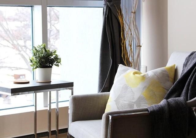 Appartement avec grandes fenêtres